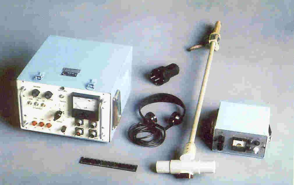 """...РМК-10М1) или акустическом (режимы  """"Акустика 5 кВ """",  """"Акустика 25кВ """" регламентной машины типа РМК-10М1)..."""